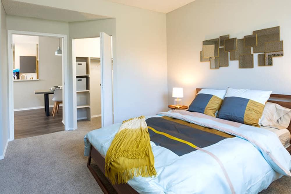 Bedroom at TAVA Waters in Denver, Colorado