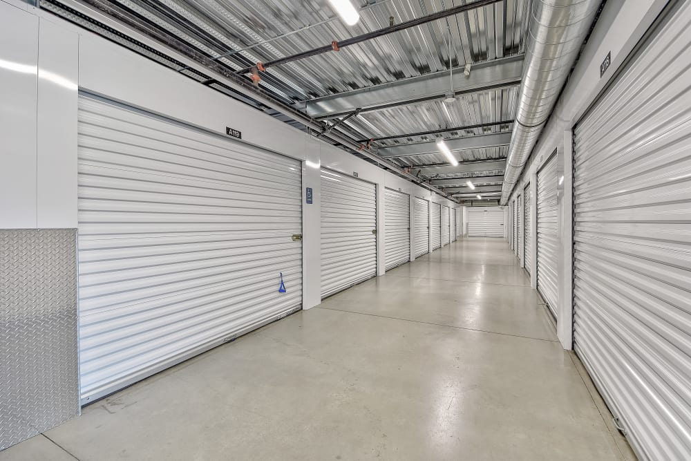 Interior units at My Self Storage Space in Brea, California