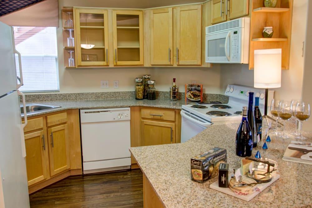 Kitchen at The Golf Villas at Oro Valley in Tucson, Arizona
