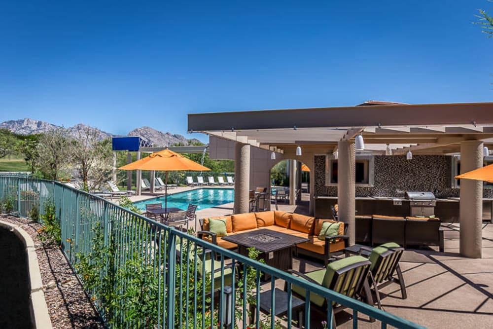 Beautiful views at The Golf Villas at Oro Valley in Tucson, Arizona
