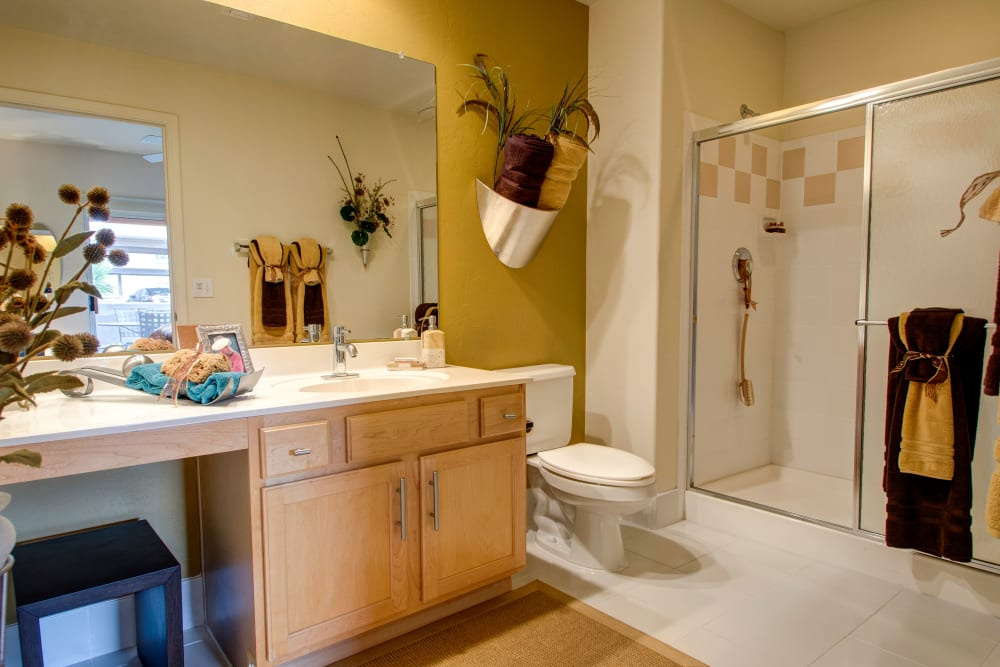 Bathroom at The Golf Villas at Oro Valley in Tucson, Arizona