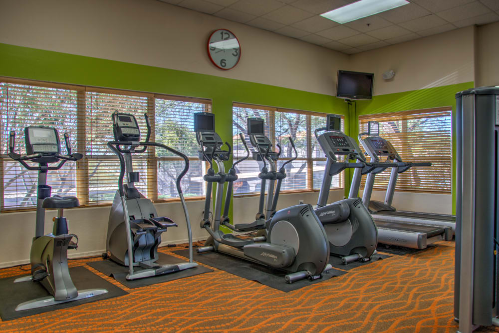 Fitness center at The Golf Villas at Oro Valley in Tucson, Arizona