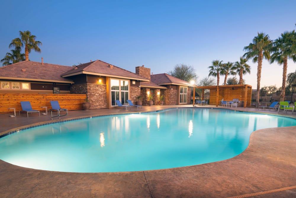 Swimming Pool at Norterra Canyon Apartments in North Las Vegas, Nevada