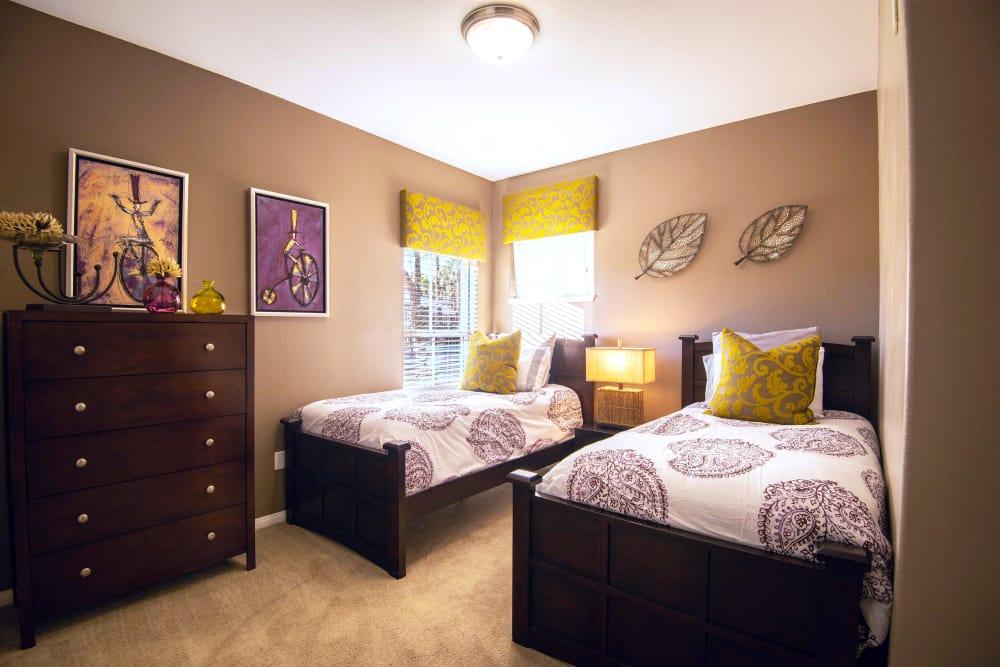 Bedroom at Apartments in North Las Vegas, Nevada