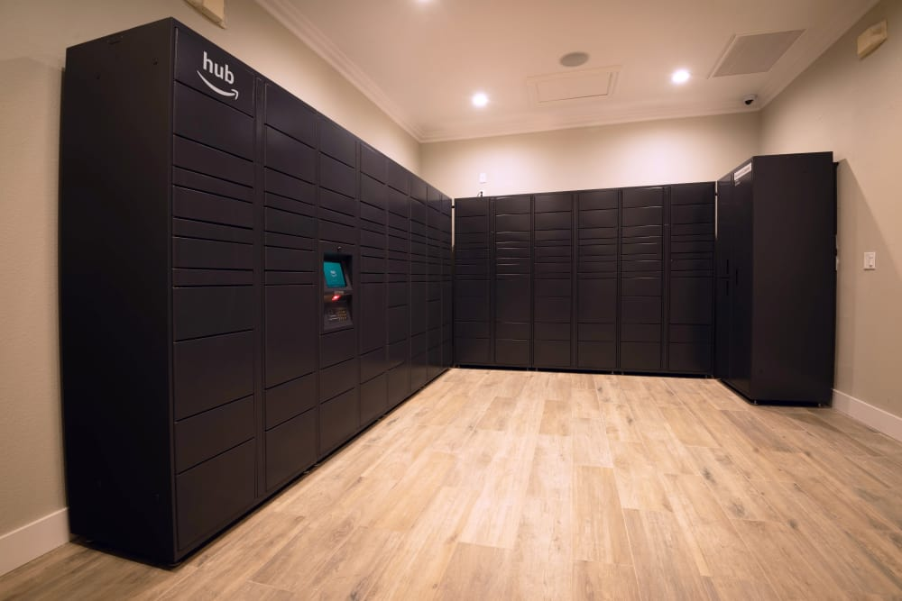 Resident Package Lockers at Norterra Canyon Apartments in North Las Vegas, Nevada