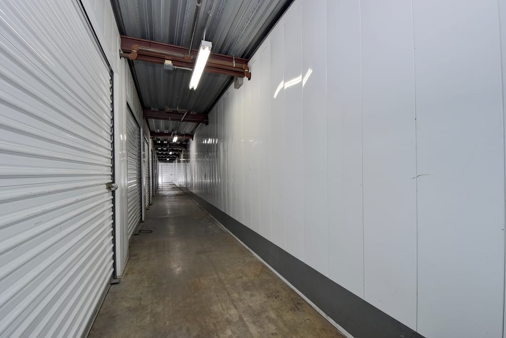 Interior units at My Self Storage Space in West Covina, California