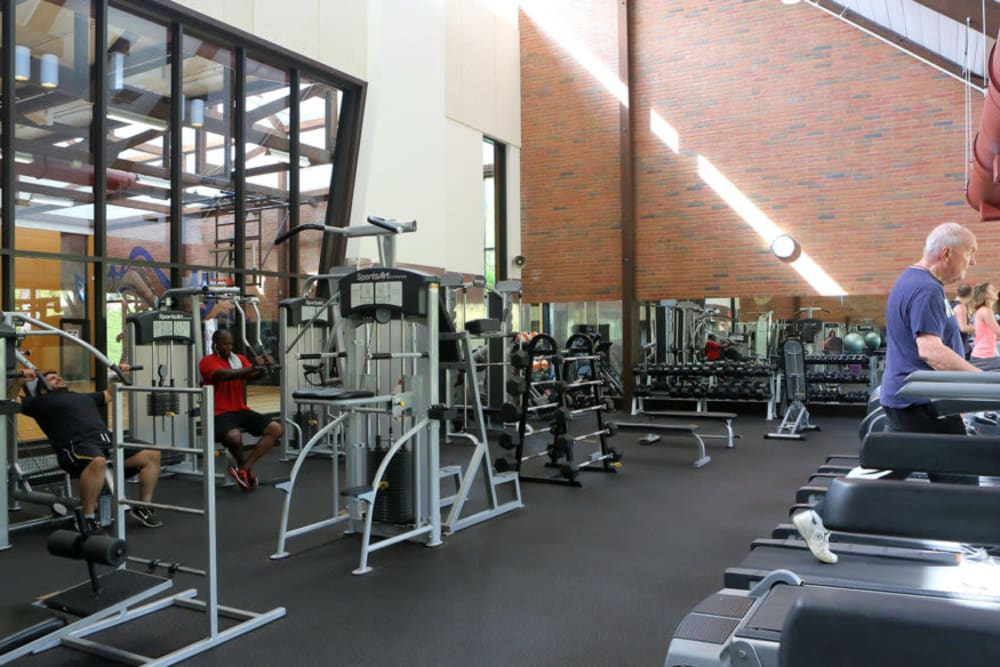Fitness center at MiLO at Mountain Park