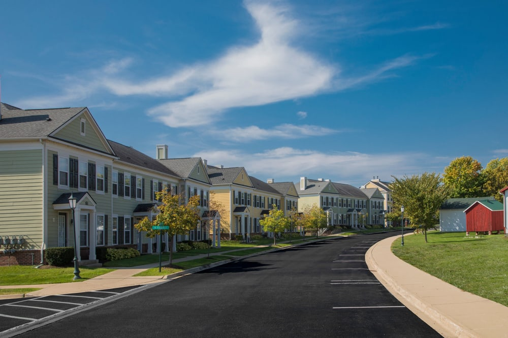 Exterior of our apartments at Uptown in Canton in Canton, Michigan