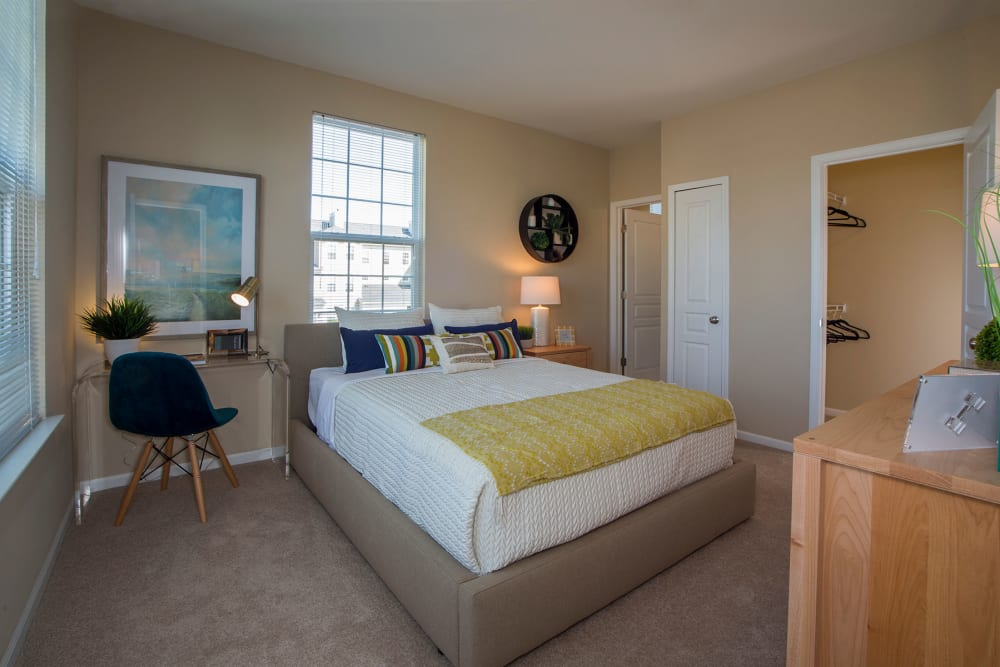 Bedroom at Uptown in Canton in Canton, Michigan