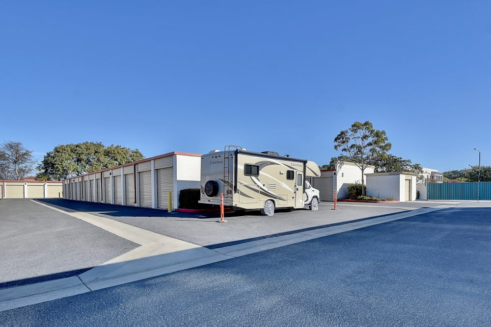 RV Parking at My Self Storage Space in Camarillo, California