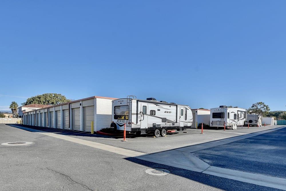 RV storage at My Self Storage Space in Camarillo, California