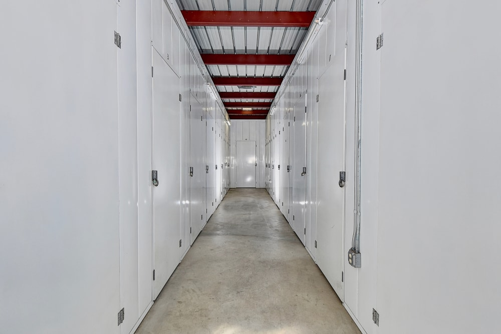 Well-lit interiors at My Self Storage Space in Camarillo, California