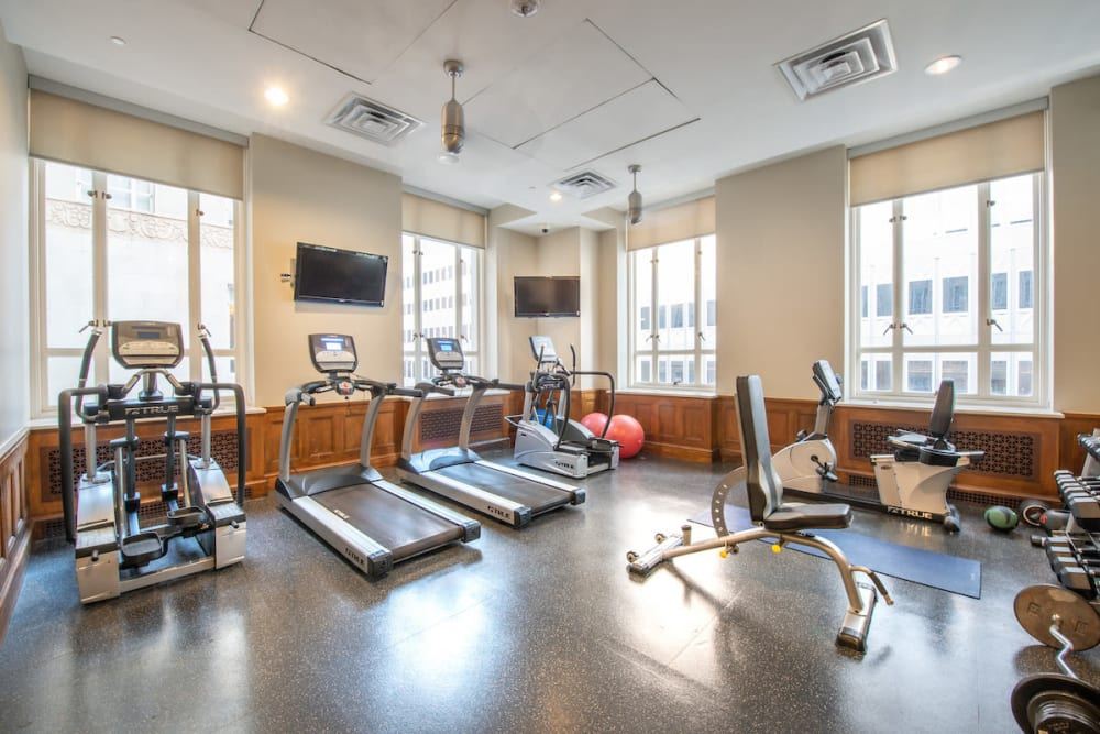 Our beautiful apartments in Dallas, Texas showcase a fitness center