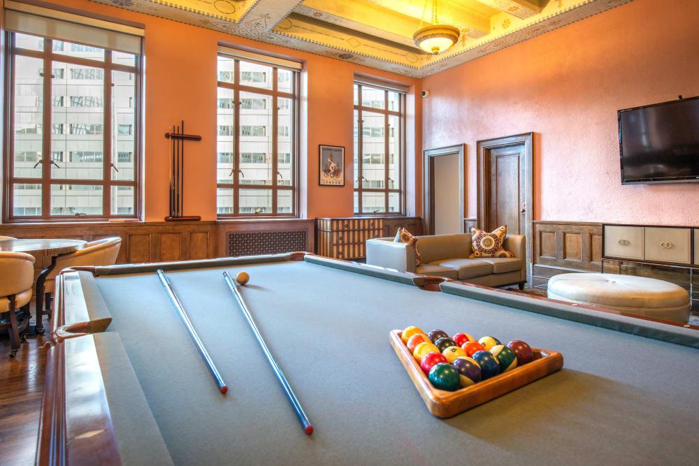 Our beautiful apartments in Dallas, Texas showcase a recreation area