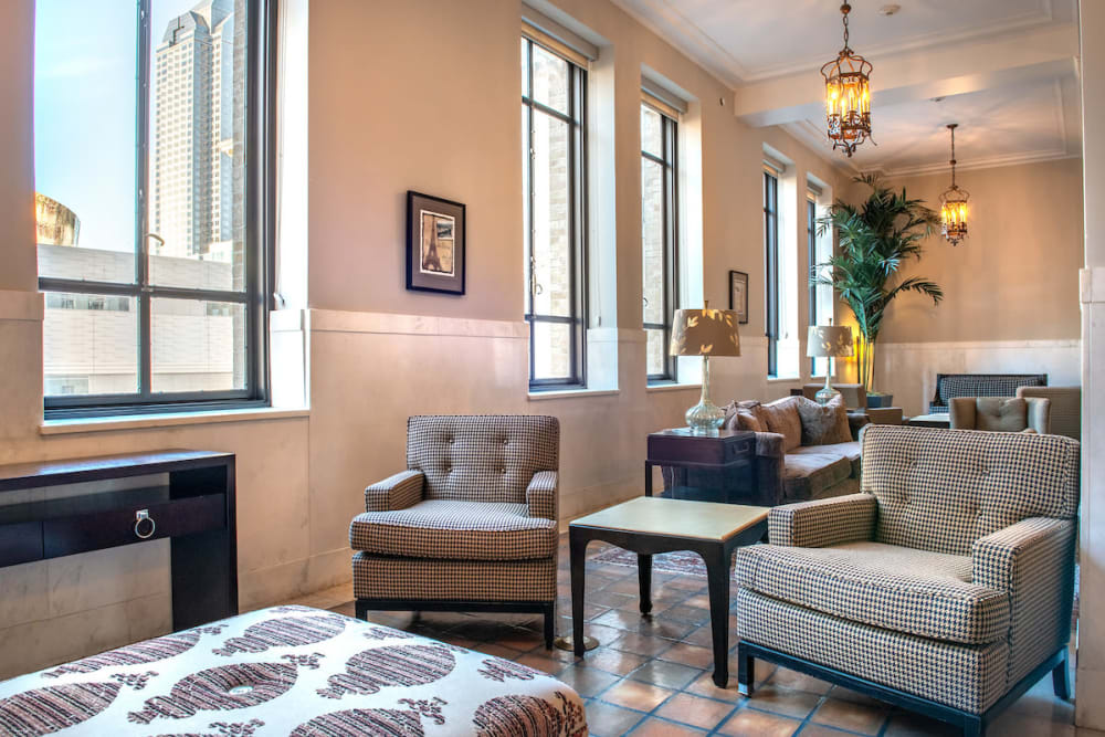 Our beautiful apartments in Dallas, Texas showcase a living room