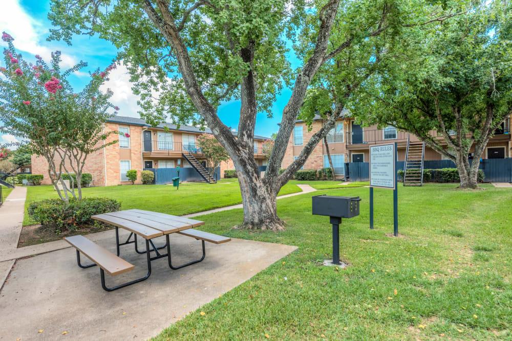 Community amenities at Newport Oaks Apartments in Alvin, Texas
