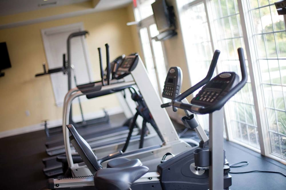 Fitness center at The Preserve at Milltown in Downingtown, Pennsylvania
