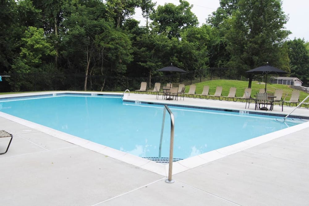 Sherry Lake Apartment Homes offers a swimming pool in Conshohocken, Pennsylvania