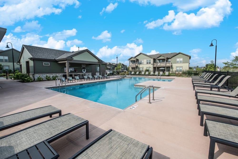 Resort Style Pool at Springs at Weber Road