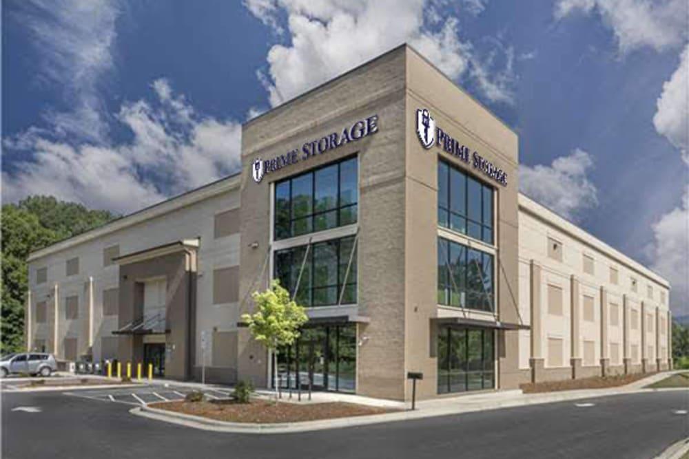 Multi-Storage building at Prime Storage in Asheville, North Carolina