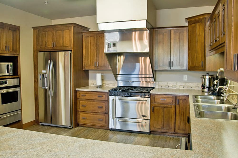 Kitchen at American Grand in Kaukauna, Wisconsin