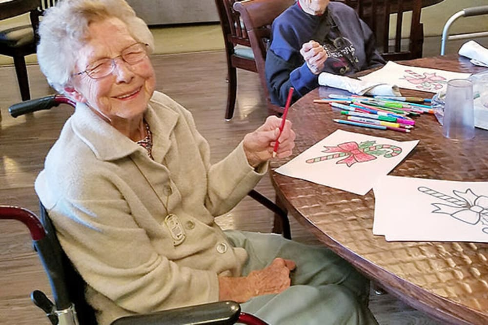 Arts and crafts at American Grand in Kaukauna, Wisconsin