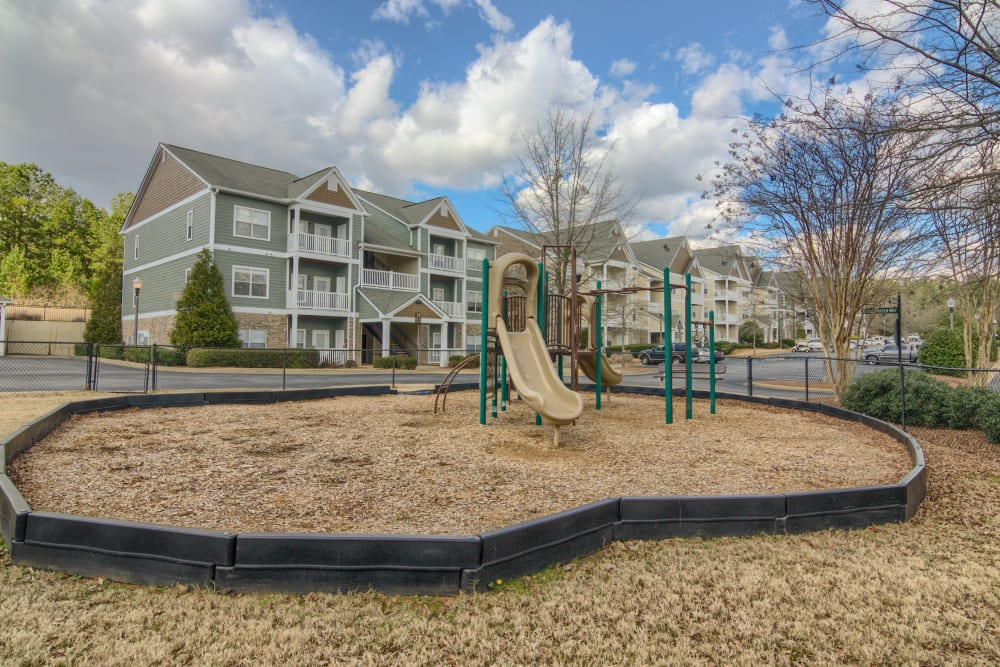 Community playground area at Apartments at the Venue in Valley, AL