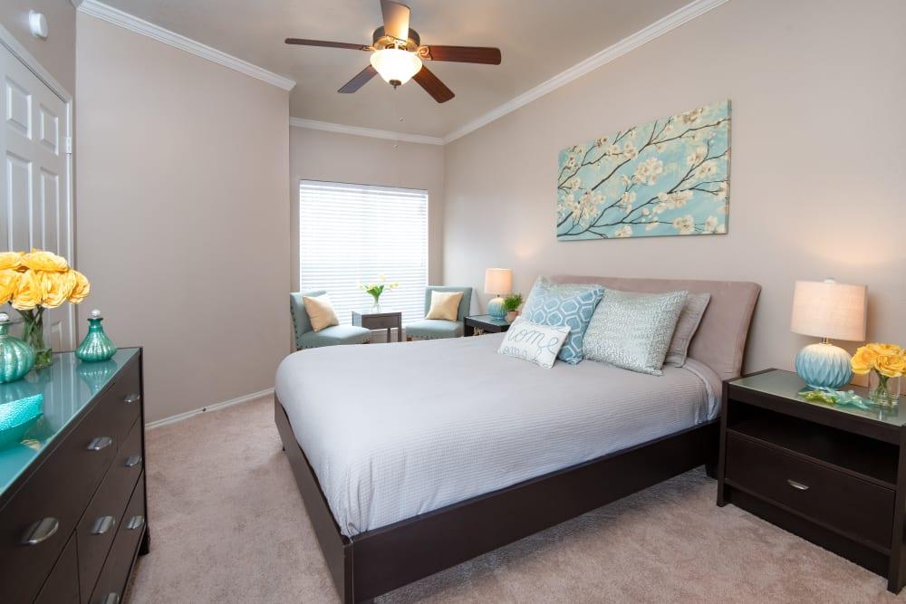 Bedroom at Rancho Palisades in Dallas, Texas