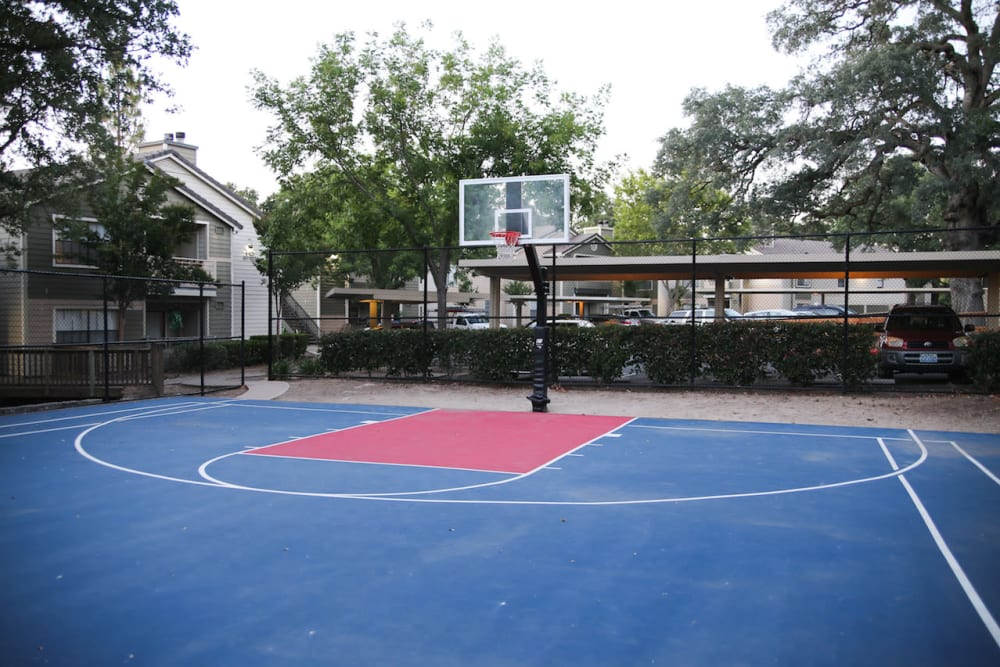 Play some basketball at Slate Creek Apartments in Roseville, California