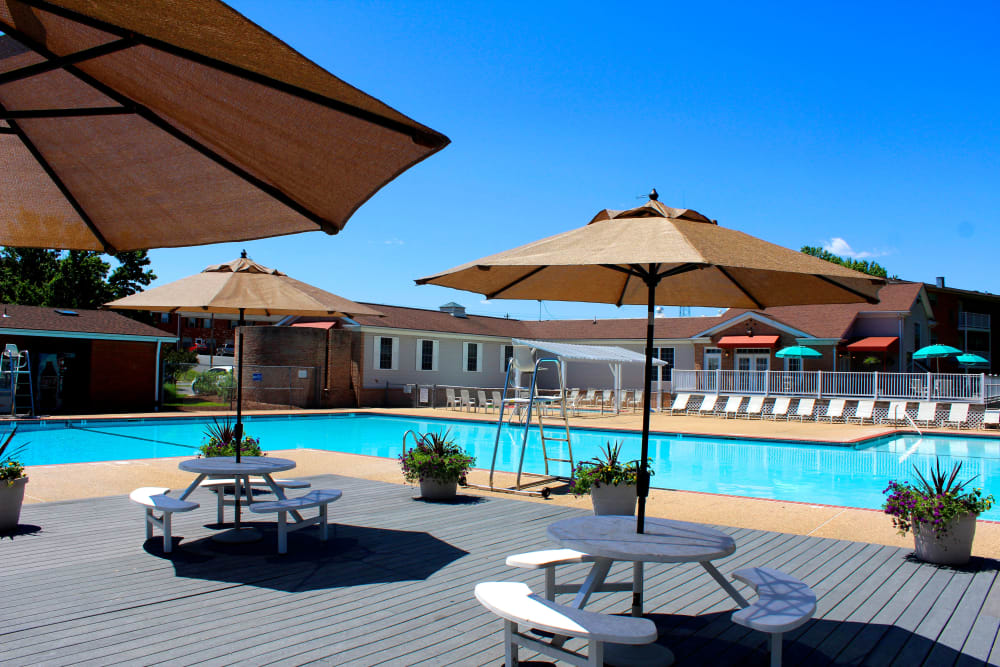 Olympic size pool at Westgate Apartments & Townhomes
