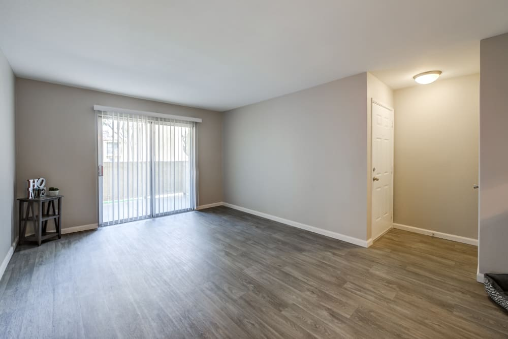 Empty unit at Granada Villas Apartment Homes in Lancaster, California