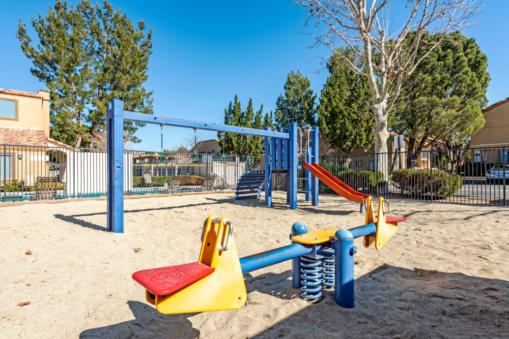 Playground at Granada Villas Apartment Homes in Lancaster, California