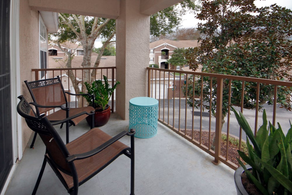 Patio at Legends Winter Springs in Winter Springs, Florida