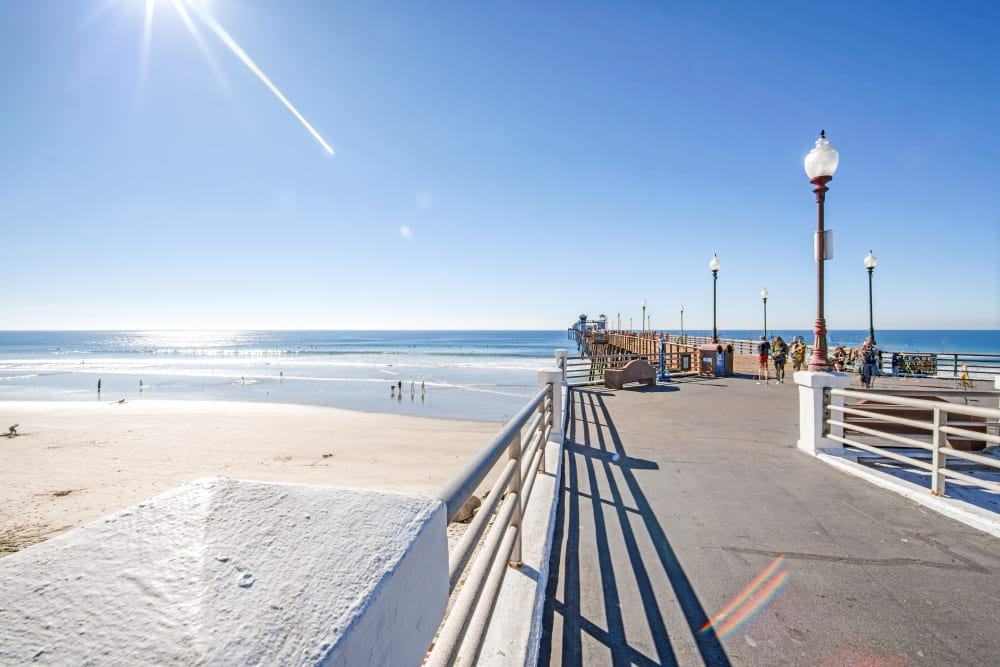 View of Oceanside Pier