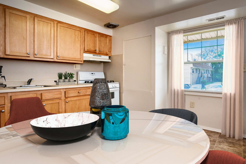 Model Kitchen at Pleasantview Townhomes
