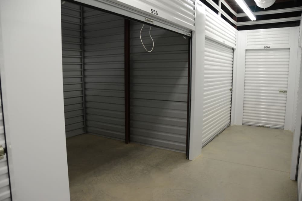 Spacious storage units available at Lock Box Self Storage in Mt Juliet, Tennessee