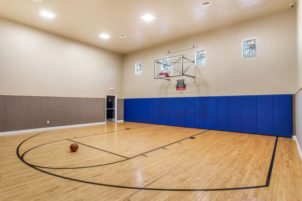 Our Apartments in San Antonio, Texas offer a Basketball Court