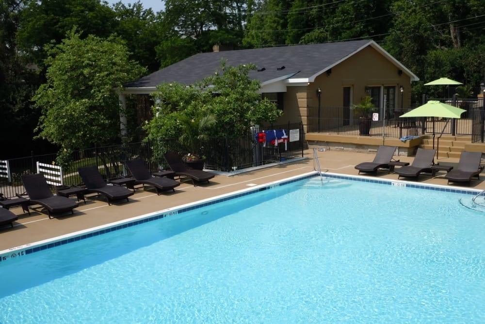 Swim area at The Creeks On Tates Creek in Lexington, Kentucky