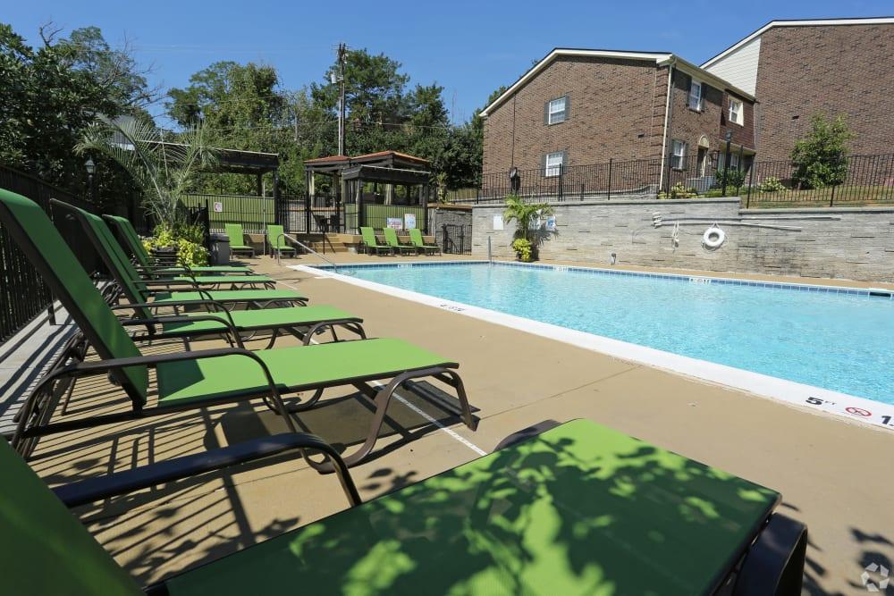 Swimming pool at The Creeks On Tates Creek in Lexington, Kentucky