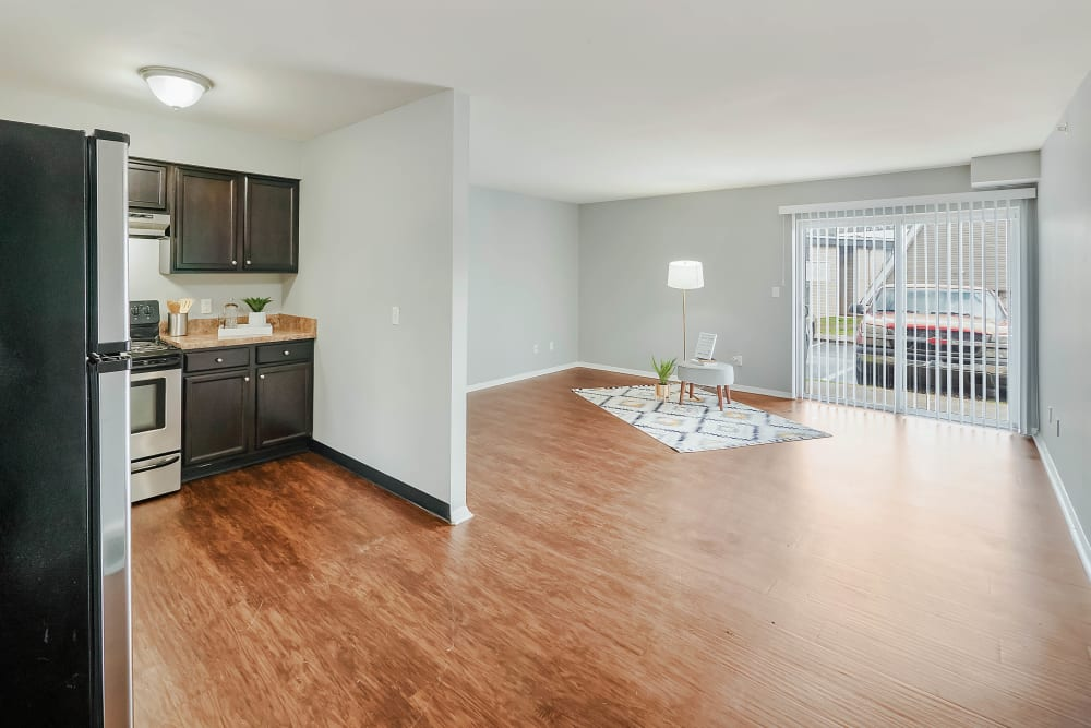 Open floor plans at The Reserve at Red Bank in Chattanooga, Tennessee.