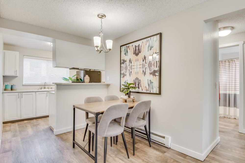 Dining Area at Copperstone Apartment Homes in Everett, Washington