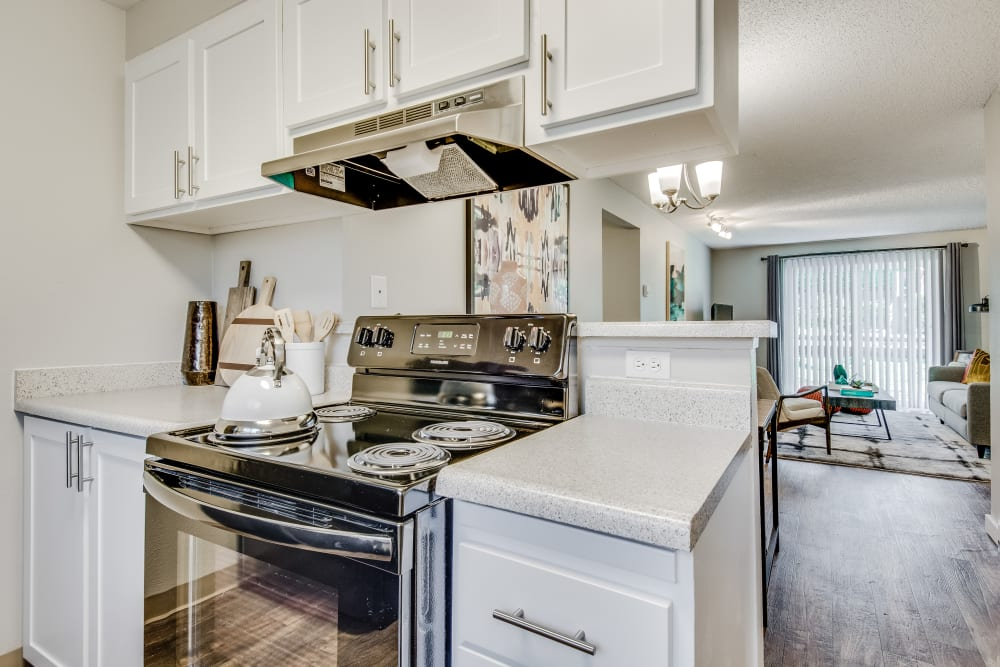 Kitchen at Copperstone Apartment Homes in Everett, Washington