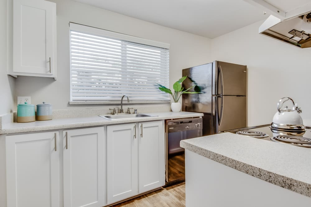 Kitchen at Copperstone Apartment Homes in Everett, WA