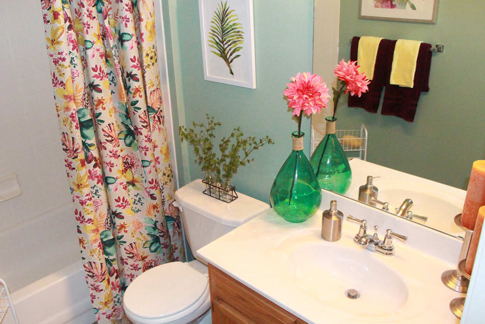 Bathroom at Emerald Lakes in Greenwood, Indiana