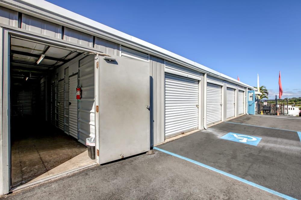 Open unit at My Self Storage Space in Kealakekua, Hawaii