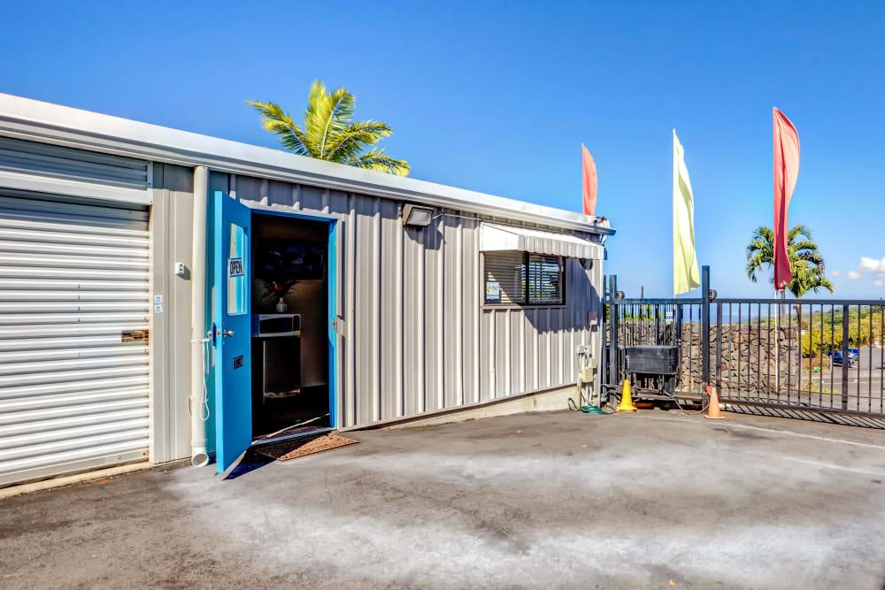 Office entrance at My Self Storage Space in Kealakekua, Hawaii