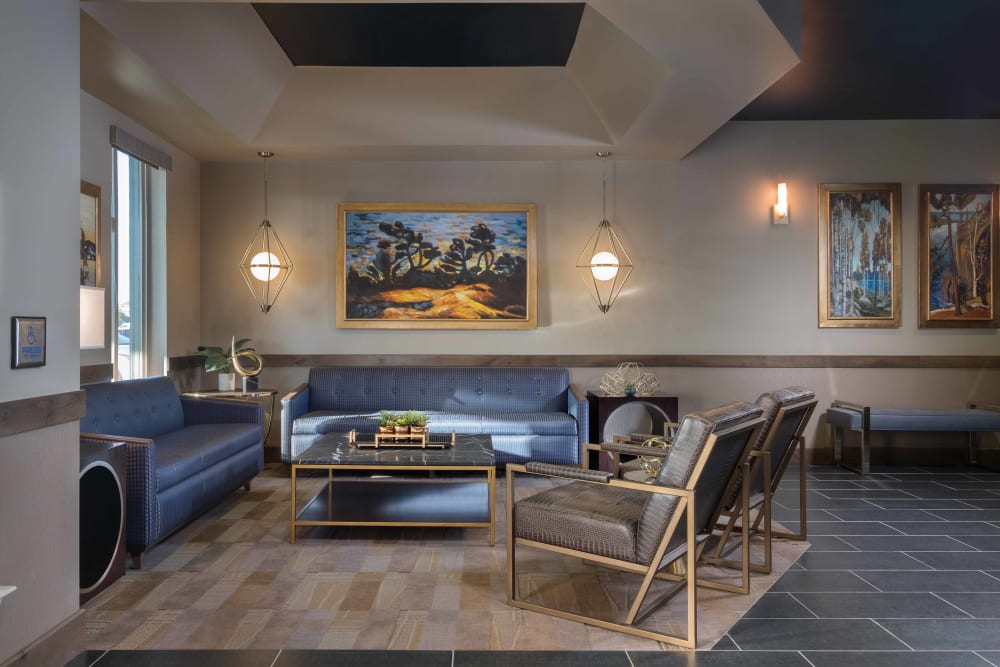 A lounge for residents at Avenir Memory Care at Surprise in Surprise, Arizona