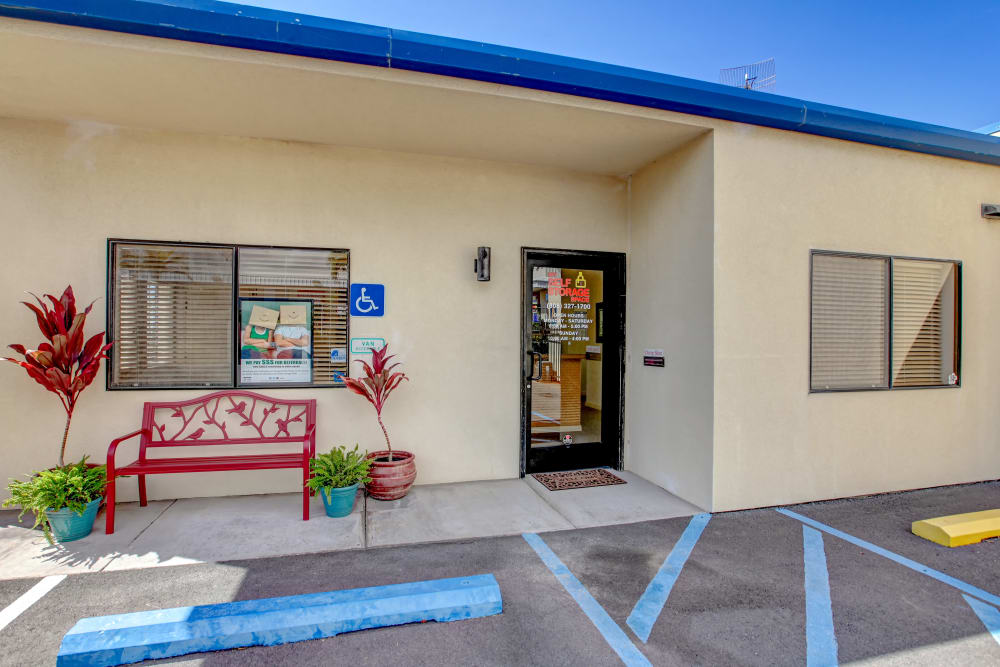 Office entrance at My Self Storage Space in Kailua-Kona, Hawaii