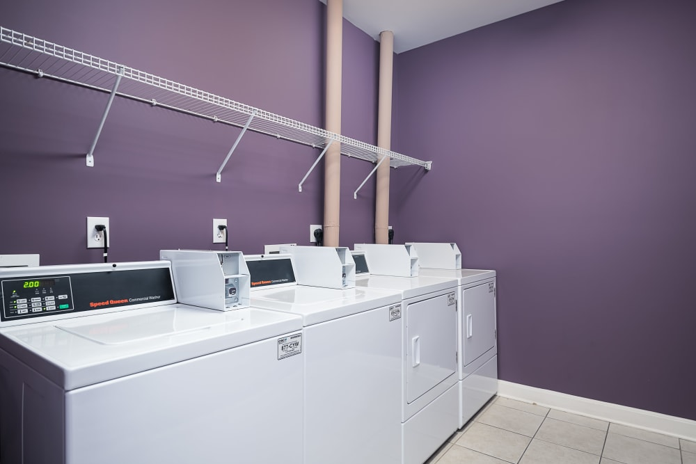 Onsite laundry center at Valley Farms in Louisville, Kentucky