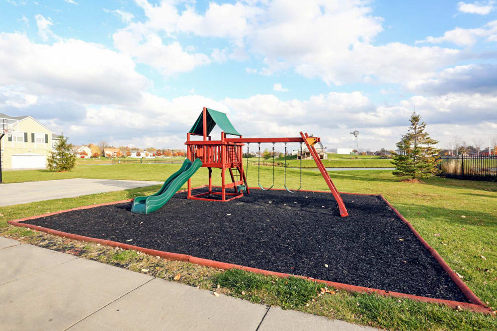 Onsite playground at Mansions at Hemingway in Johnston, Iowa